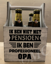 Bierkratje - Ik ben niet met pensioen