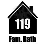 Huisje met schoorsteen: Huisnummer en familie naam