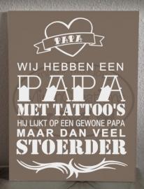 Papa tattoo (wij)