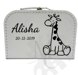 Geboorte koffertje : Giraf