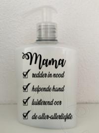 Etiket - Mama / oma redder in nood