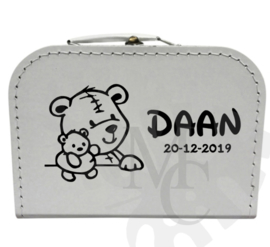 Geboorte koffertje : Knuffelbeer