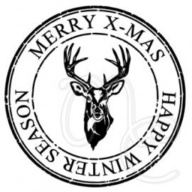 Sticker : Merry x-mas