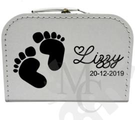 Geboorte koffertje : Voetjes