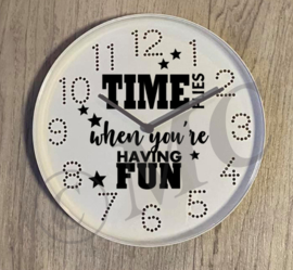 Klok - Time flies when you're having fun