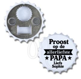 Opener - Proost op de allerliefste papa / Opa (banner)