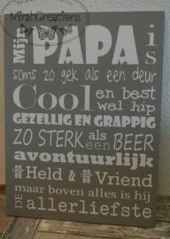 Mijn papa is