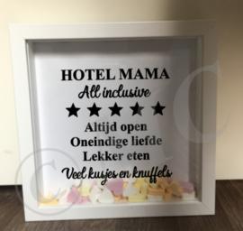 "3d fotolijstje ""Hotel Mama"" (oma, opa, papa)"