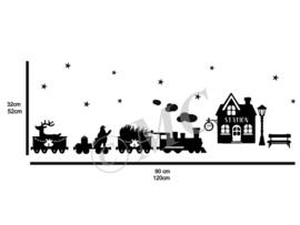 Statisch - Kersttrein