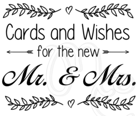 Cards and wishes (tbv. enveloppen box)
