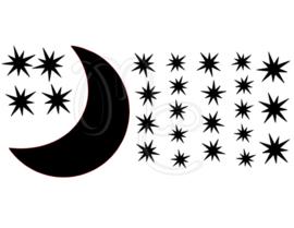 Statisch - Uitbreidingsset Sterren en maan
