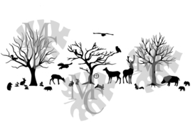 Statisch - Bosdieren