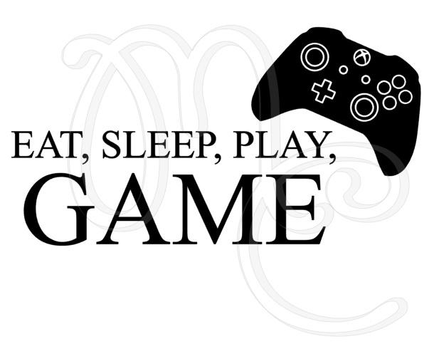 Eat, sleep, Play, Game xbox