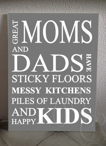 Great moms and dads