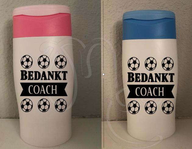 Douchegel Bedankt Coach