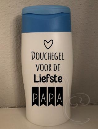 douchegel voor de liefste papa/opa
