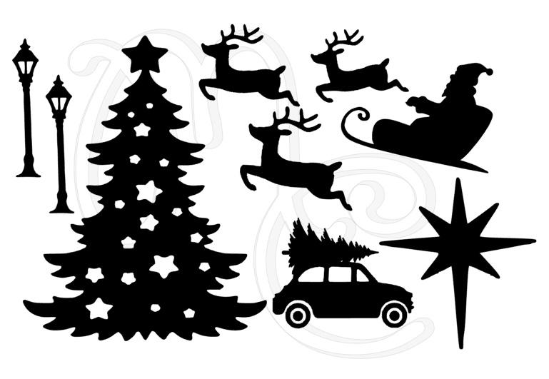 Statisch - Uitbreidingsset Kerst