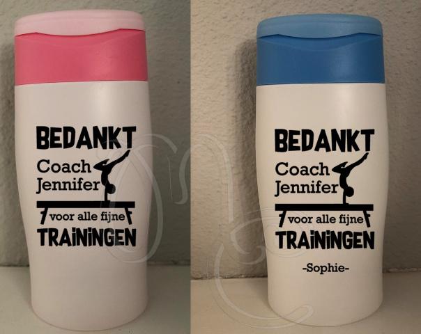 Douchegel: Bedankt coach - Turnen / gymnastiek