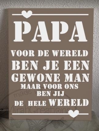 Papa voor de wereld