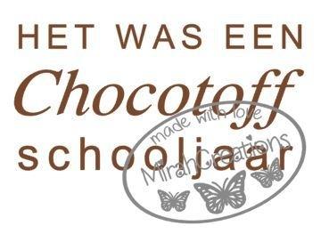 Chocotoff schooljaar