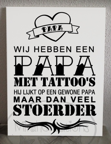 Papa tattoo