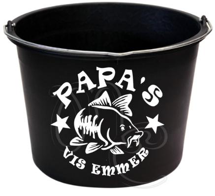 Sticker : Papa's vis emmer