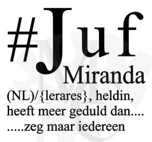 Hashtag Juf/meester