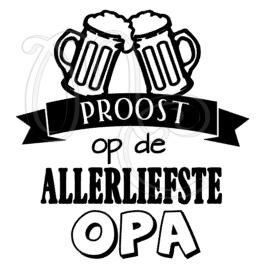 Proost op de allerliefste papa / opa (bierpul)