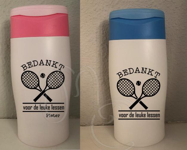 Douchegel: Bedankt - Tennis