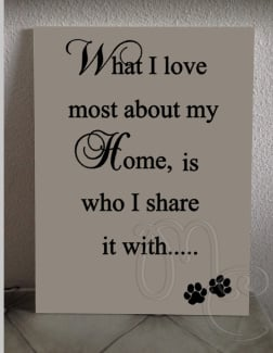 What i love most about my home -pootjes-