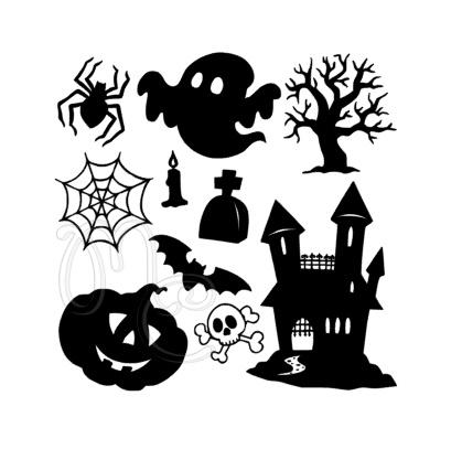 Sticker - Diverse halloween