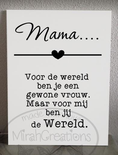 Mama . . .