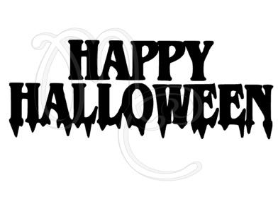 Sticker - Uitbreidingsset Happy halloween
