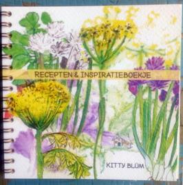 Inspiratie en receptenboekje (20 recepten van 20 verschillende kruidenplanten, 14 bij 14 cm)