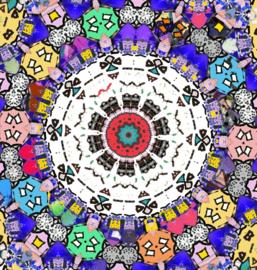 Kaleidoscope 3 (dubbel klein formaat)