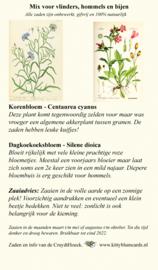 Zakje zaden voor bijen en vlinders