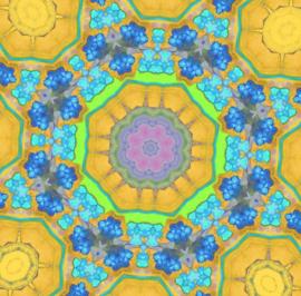 kaleidoscope 7 (dubbel klein formaat)
