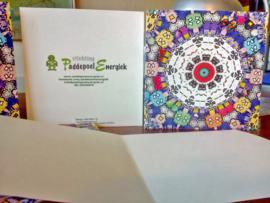Kaarten met eigen logo erop: vraag offerte