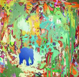 Blauwe olifant (V8)