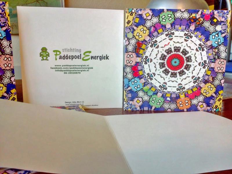 Kaarten met eigen logo erop: vraag gerust om een offerte