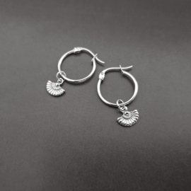 Abanico Earring - 925 Gold / Silver