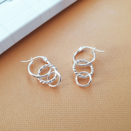 Miracle Earrings - 925 Silver