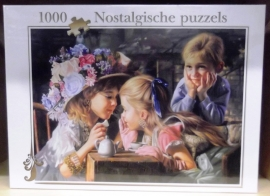 """puzzel kinderen """"ik vertel je een geheimpje """"sp02"""