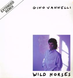 gino vannelli - wild horses maxi single  12 inch