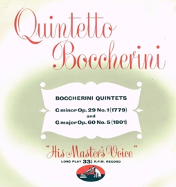 Boccherini - Quintets - Quintetto Boccherini - His Master Voice ALP.1144