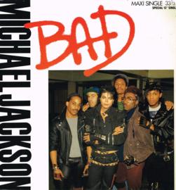 michael jackson - bad (maxi singel 33 1/3 rpm