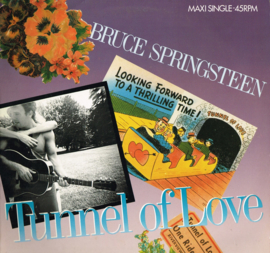 bruce springsteen - tunnel of love maxi single 45 rpm