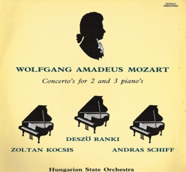 wolfgang amadeus moxart - concerto's for 2 and 3 piano's