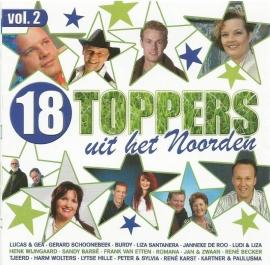 18 toppers uit het noorden - volume 2