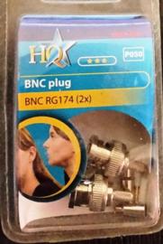 hq bnc plug rg 174 2x